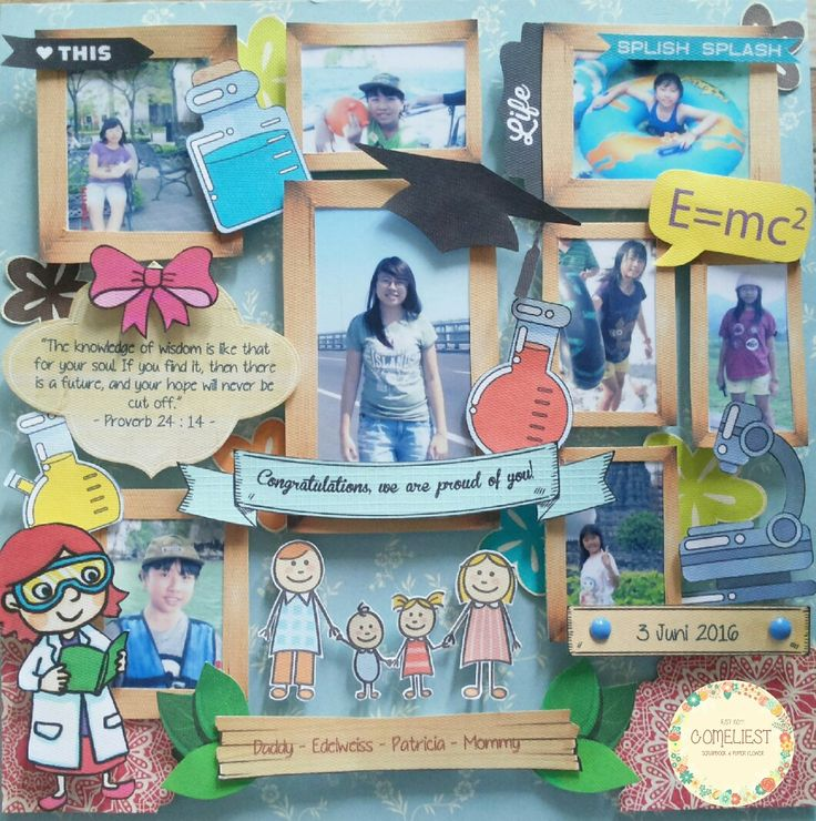 Instagram : ComeliestScrapbook  #comeliestscrapbook #scrapbook #scrapbooking #scrapbooklayout #scrapper #scrapframe #scrapbookcraft #scrapbookforbeginner #papercraft #craft #graduationscrapbook