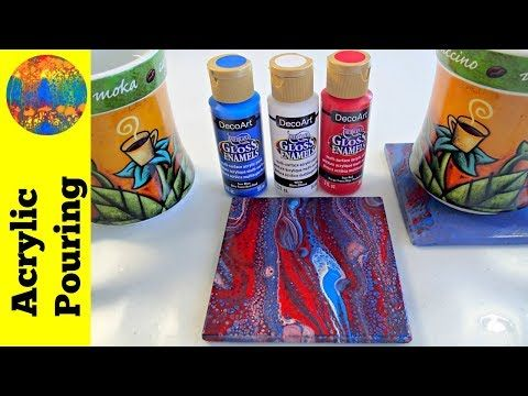 Best Gloss Enamel Paints for Acrylic Pouring on Ceramic