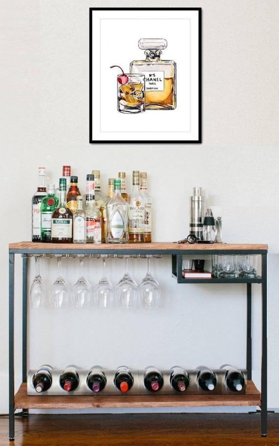 Verkauf Holz Und Metall Bar Cart Holz Handgefertigt
