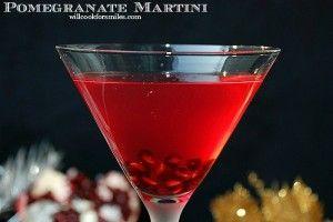 Pomegranate Martini #ThirstyThursday #martini