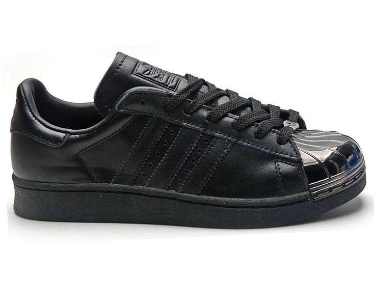 Adidas Superstar Noir Femme 6