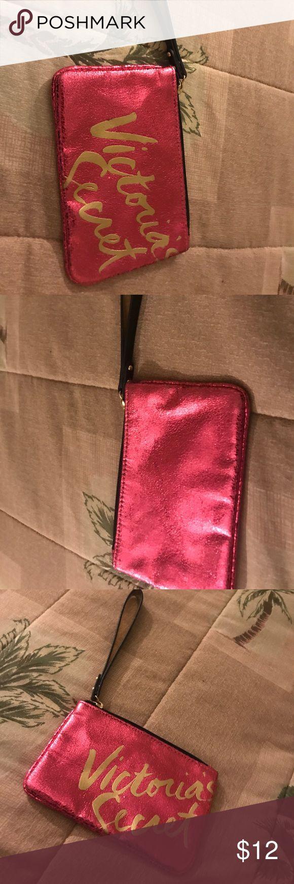 Victoria secret clutch Pink small Victoria secret clutch Victoria's Secret Bags Clutches & Wristlets