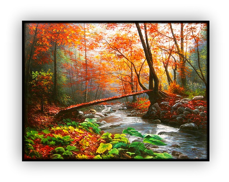 Canadian Landscapes 058: 36x48inches