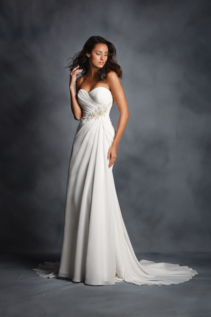 Beautiful Alfred Angelo Bridal Style from Angelo Express Fast Dress Delivery
