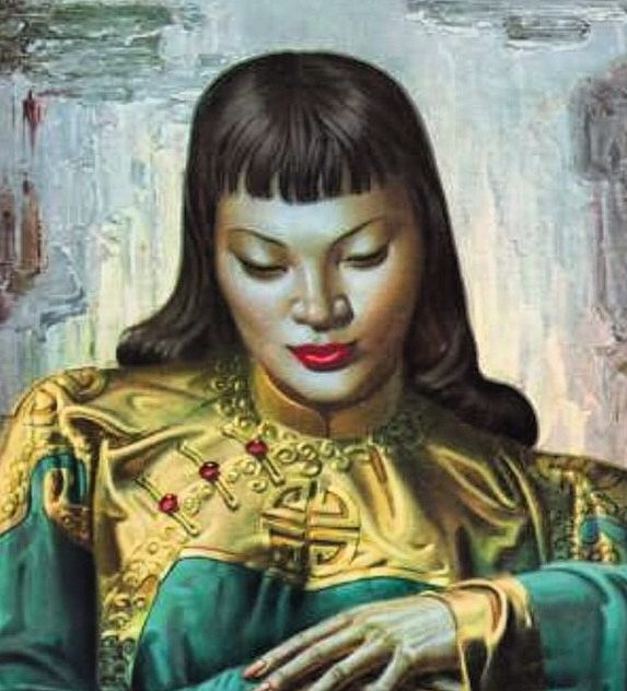 Vladimir Tretchikoff- Lady of the Orient