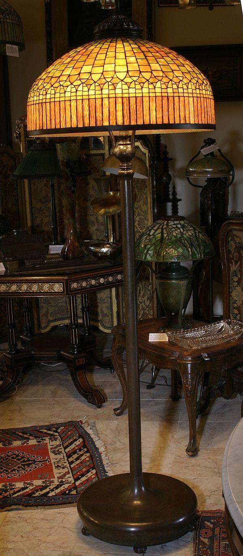 Antique tiffany table lamps - Tiffany Floor Lamp1 Jpg 600 1370 Tiffany Floor Lampsantique