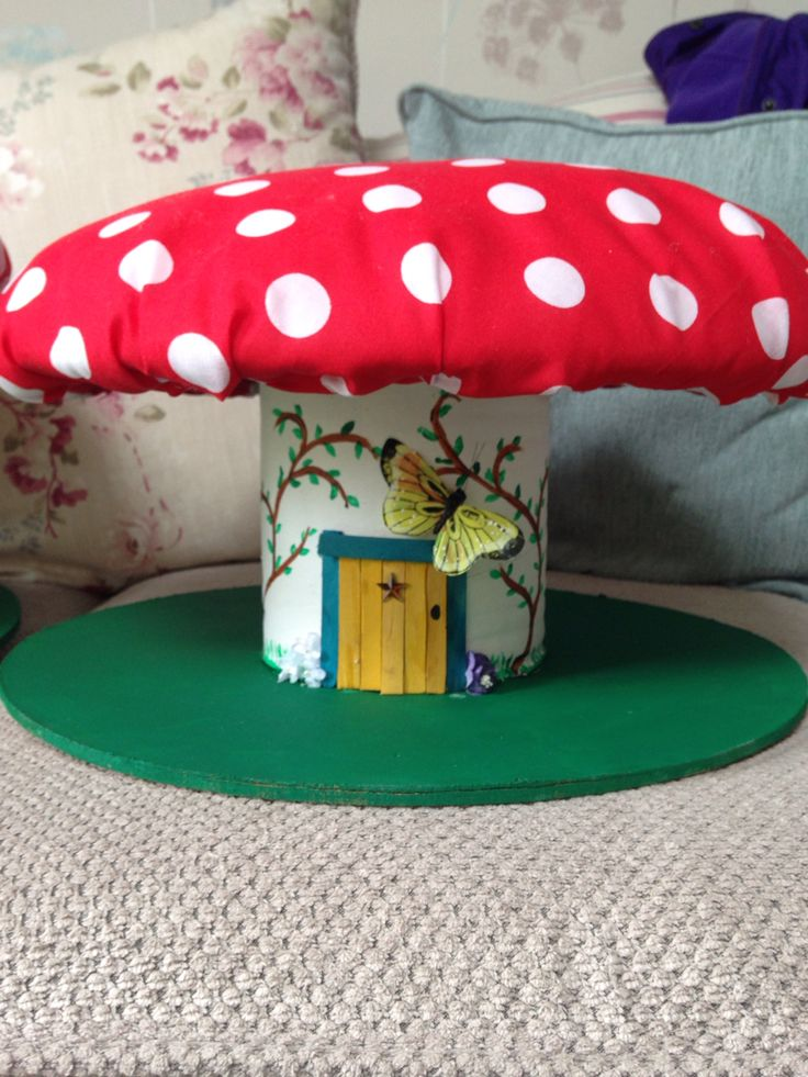 Toadstool cable reel EYFS