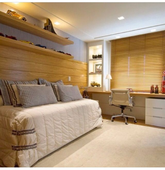 Kids Bedrooms, Cute Bedrooms, Persiana Quartos Menino, Wood, Boyish