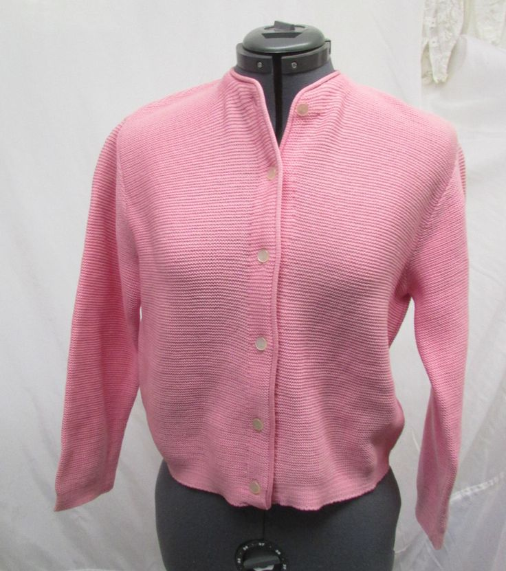 Vintage 1970's Sweater Zephyr Wool Knit PINK Cardigan Sweater Angelli Label by CAOLEiheartvintage on Etsy https://www.etsy.com/listing/260923332/vintage-1970s-sweater-zephyr-wool-knit