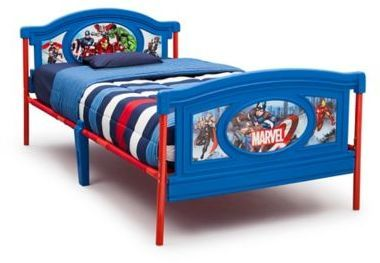 Delta Children Marvel 174 Avengers Twin Bed Twin Platform
