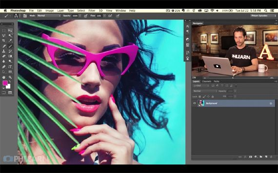 Photoshop Basics for Beginners – PictureCorrect. Video: Aaron Nace. http://www.picturecorrect.com/tips/photoshop-basics-for-beginners/