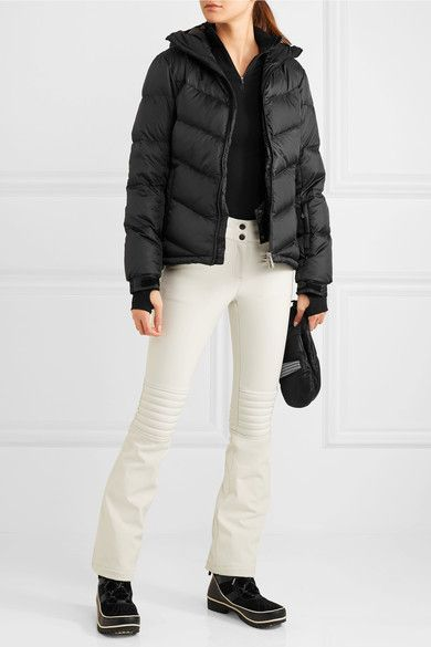 Perfect Moment - Super Day Quilted Down Ski Jacket - Black -