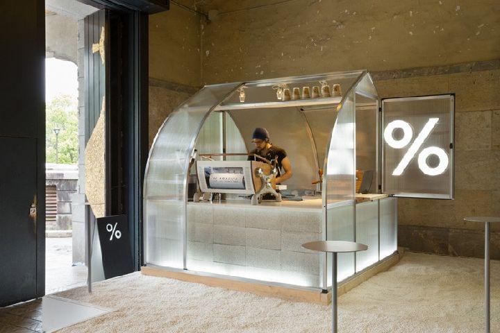 Coffee kiosk by PUDDLE, Kyoto – Japan » Retail Design Blog
