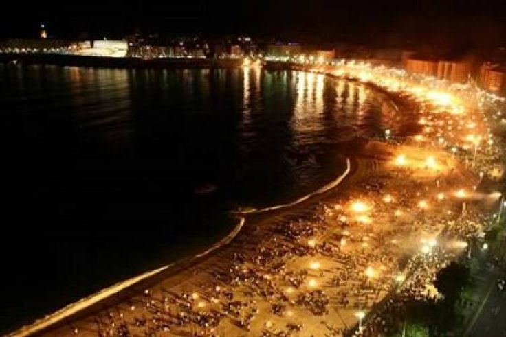 Revetlla de Sant Joan (Saint John's Festival), also called Nit del Foc (Night of Fire). Coinciding with the summer solstice the kids throw firecrackers, and people go to the beach, prepare bonfires and then jump over them. ApartmentsBarcelona.com is celebrating with you!