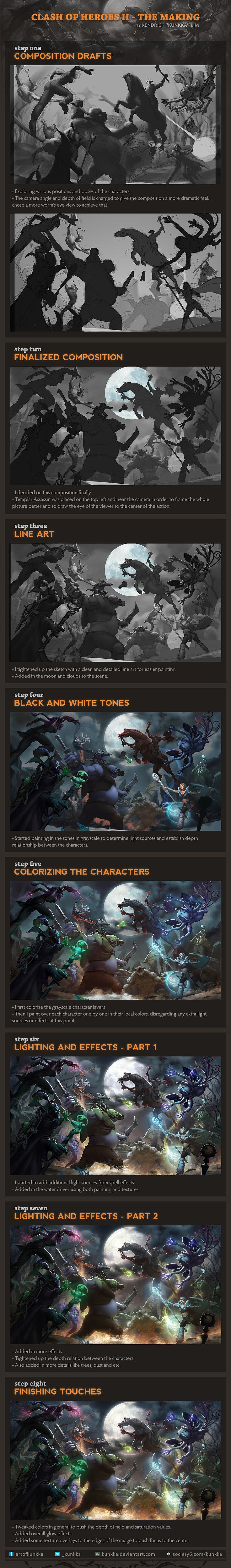Clash of Heroes II step-by-step by kunkka on deviantART