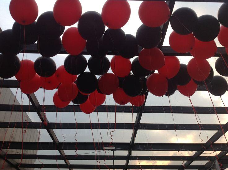 Balloon Decoration  Sublime Sky 17th Floor Gino Feruci Braga Hotel Jl Braga 67 Bandung