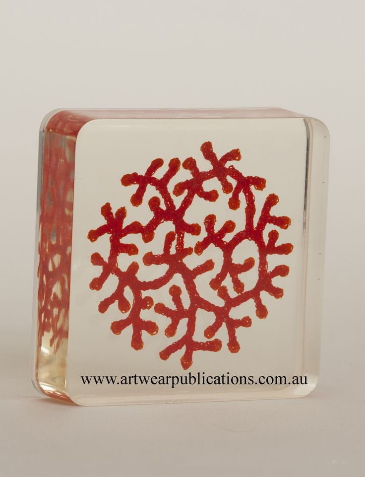 Meredith Woolnough Embedding in Resin
