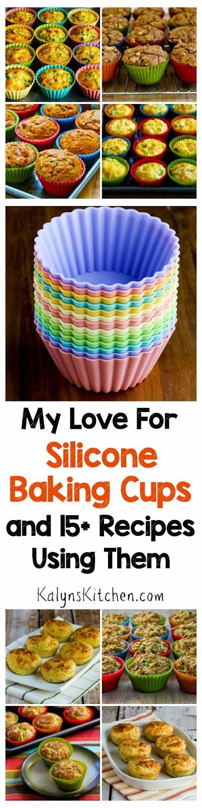 My Love for Silicone Baking Cups and 15+ Recipes Using Silicone Baking Cups [found on KalynsKitchen.com]
