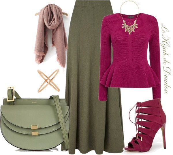 Hijab Fashion 2016/2017: Hijab Outfit