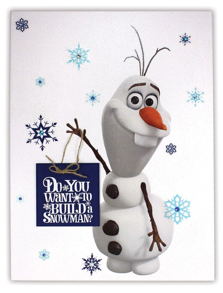 Frozen Canvas - click through for project instructions