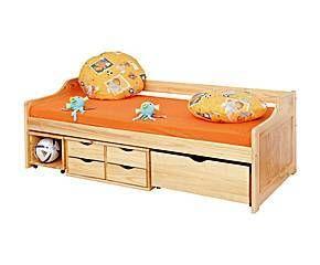 Canapé de madera de pino maciza