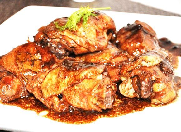 Filipino Chicken Adobo   chicken   Pinterest
