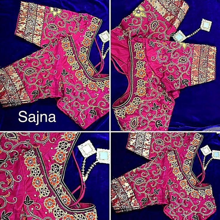 461 Best Designer Blouse Images On Pinterest | Blouse Designs Blouse Patterns And Embroidery Thread