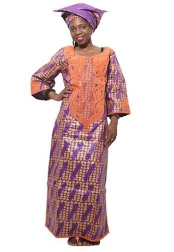 H D 2017 Fabric Cotton African fashion clothes Bazin riche dress for women  Traditional embroidery dress robes 9704175a6