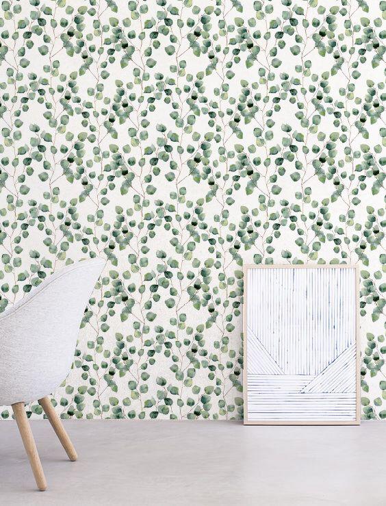 Eukalyptus Tischplattentapeten, abnehmbar, selbstklebende Tapete, tropischen Wanddekoration Dschungel Wandbekleidung - JW117 von Jumanjii auf Etsy https://www.etsy.com/de/listing/484635538/eukalyptus-tischplattentapeten-abnehmbar