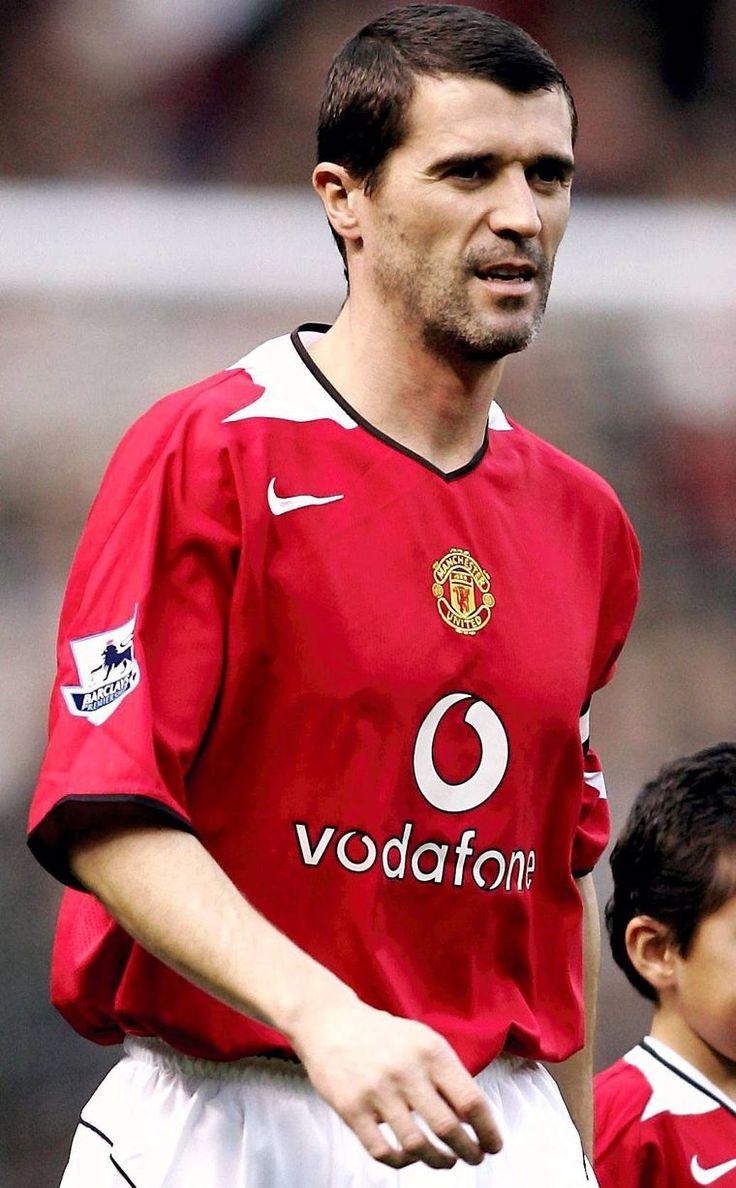 Roy Keane aka da beast...we're definitely missing his calibre in midfield