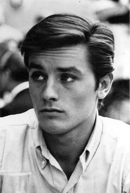 alain delon young | ... to have given you a bit more information about the wonderful M. Delon