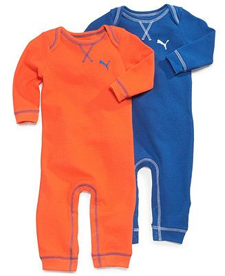 Puma Baby Boys' 2-Pack Rompers - Kids Shop All Baby - Macy's