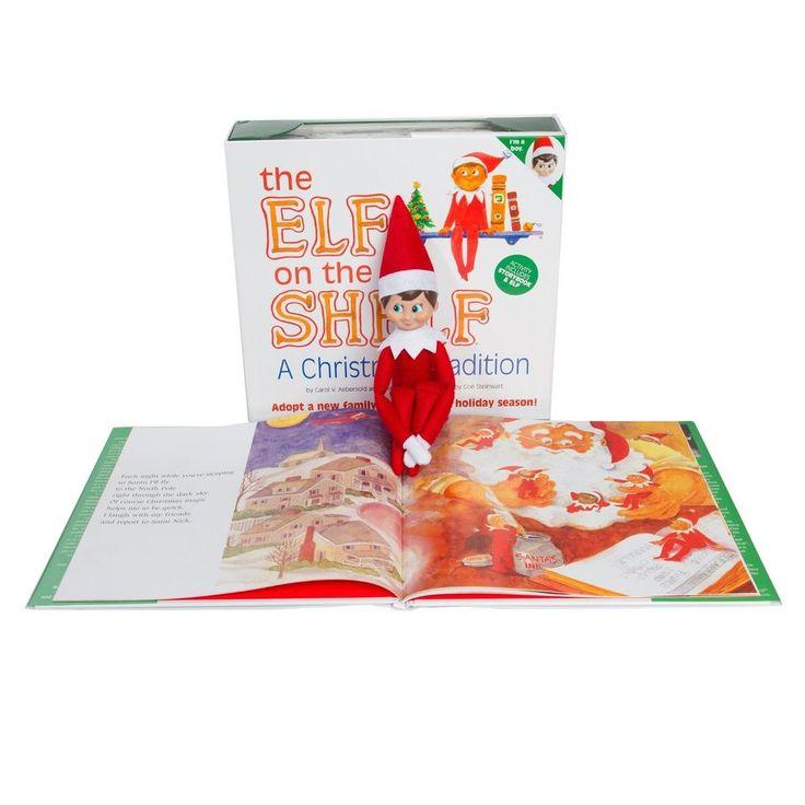 NEW The Elf on the Shelf (boy elf w/ light skin) By Carol V. Aebersold