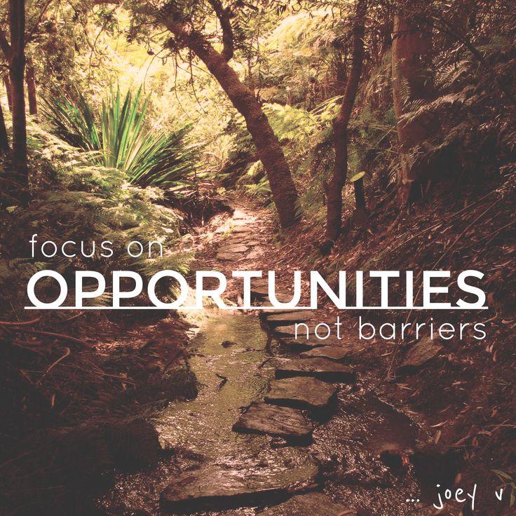 A good mantra ... joey v