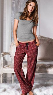 Women's Pajamas: Flannel, Cotton, Silk, Cami Pajamas & BoyshortSets at Victoria's Secret