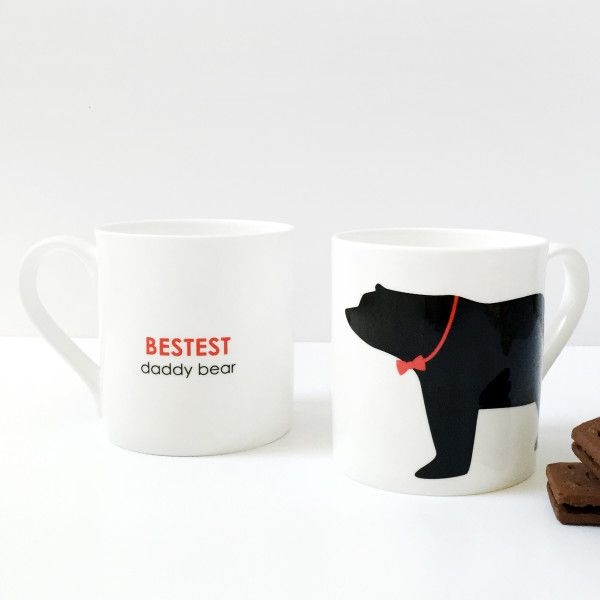 Bestest daddy bear mug