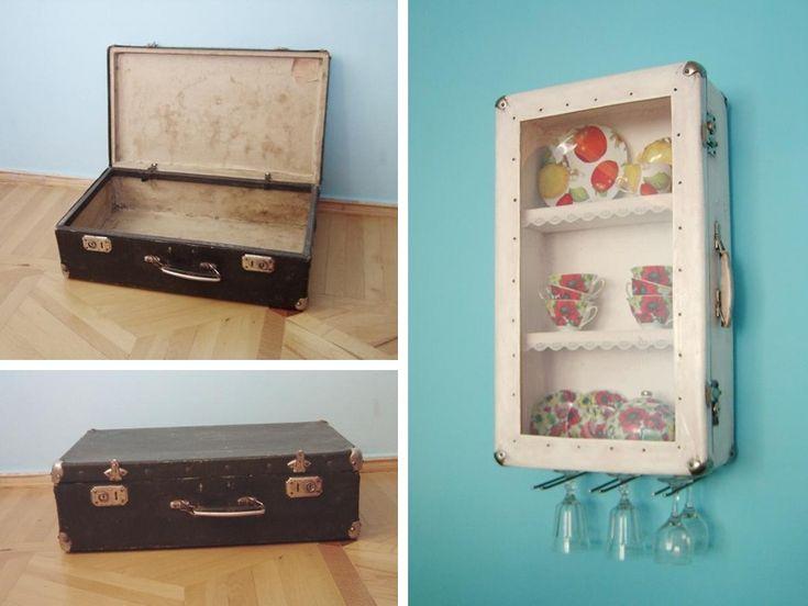 Famoso Oltre 25 fantastiche idee su Vecchie valigie su Pinterest  VB96
