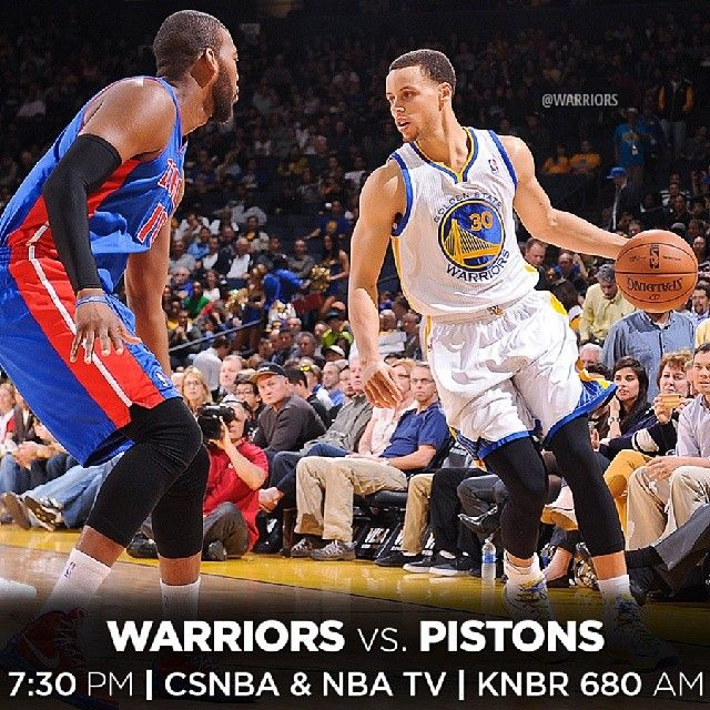 IT'S GAME DAY! The Warriors are back on #WarriorsGround as they play the first of three-straight home games tonight against the Detroit Pistons. The game falls on #HoopsForTroops Night at Oracle Arena and the team will celebrate current and former U.S. Military servicemen and women throughout the evening. Game Preview and Ticket Info available at warriors.com/gameday #LetsGoWarriors