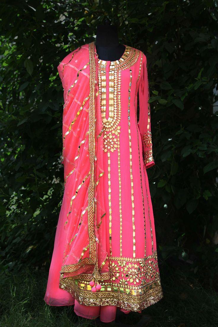 get this beautifull suit made visit us @Nivetas Design Studio whatsapp +917696747289 visit us https://www.facebook.com/punjabisboutique bridal suit , indian bridal suit , Punjabi bridal suit