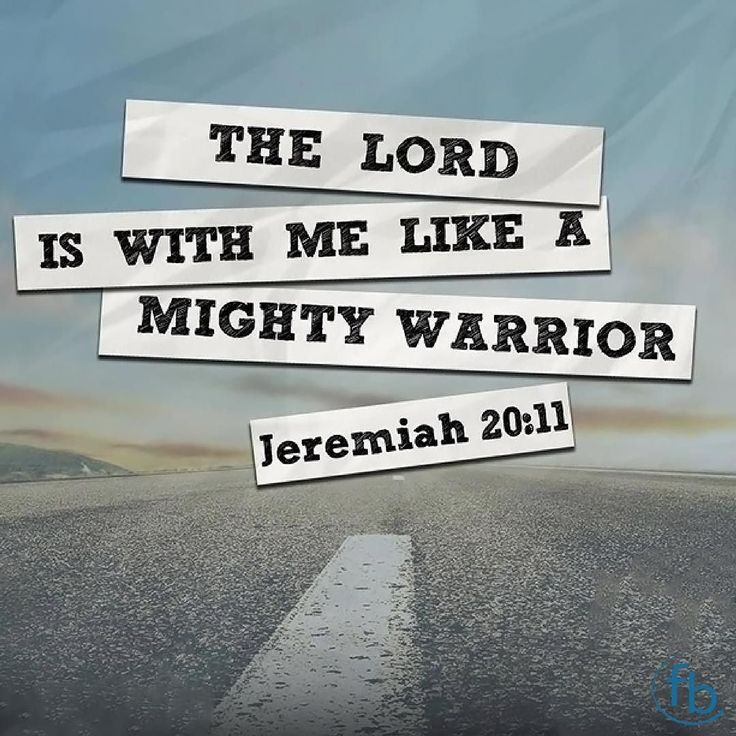 Mighty Warriors In The Bible: 17 Best Ideas About Jeremiah 20 On Pinterest