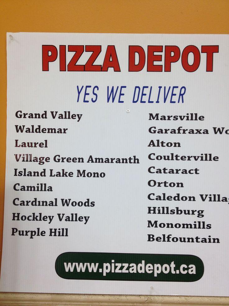 Day 251 of 365 - Orangeville's Pizza Depot