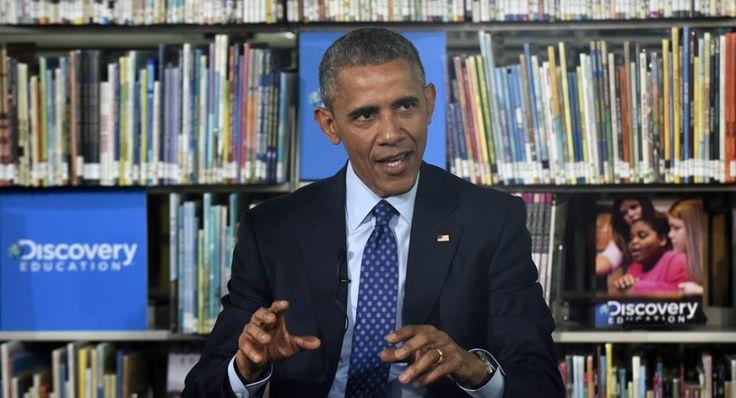 Buku Adalah 'Pahlawan' bagi Barack Obama