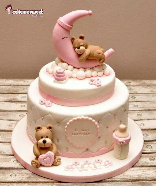 ..girl baby shower cake