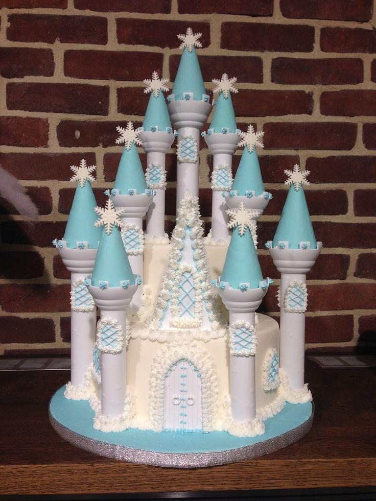 Rozen kasteel taart