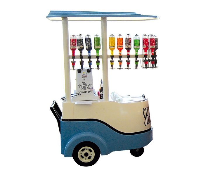 Snow-Cone-Machine-&-Cart