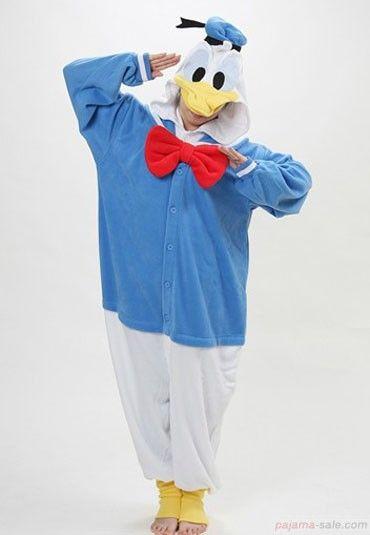 Donald Duck animals Onesie pajamas, Adult and kids Kigurumi Onesie