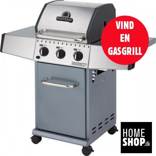 Lige nu har vi en konkurrence kørende - hvor du kan vinde en gasgrill fra Broil King - deltag her http://bit.ly/homeshopvind