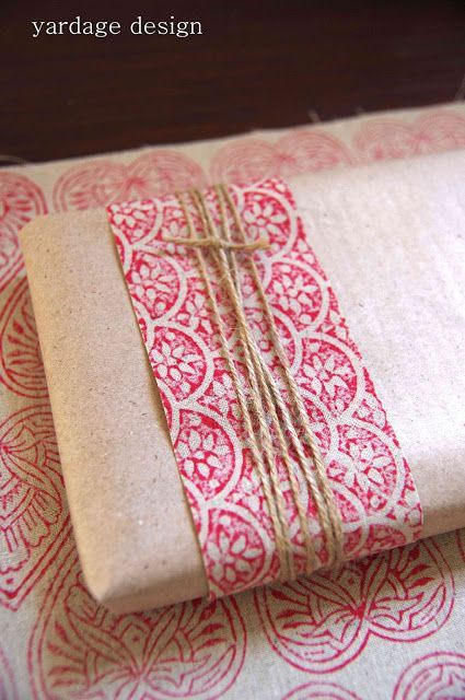 yardage design ~ hand printed fabric and homewares: printing :: for the swap