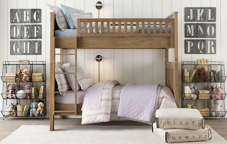 二段ベッドだってこんなにオシャレに。