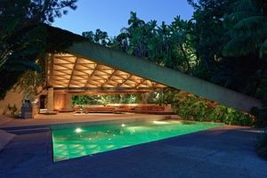 The James Goldstein house, designed by John Lautner